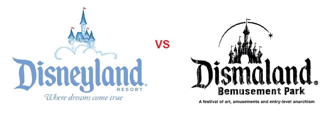 DISNEYLAND VS DISMALAND