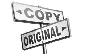 copy and original