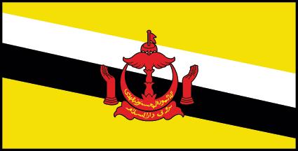 bandera brunei