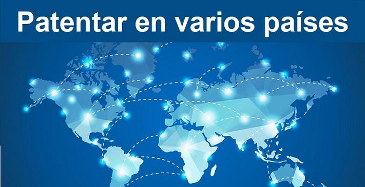 patentar en varios paises