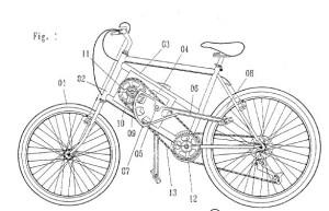 patente bicicleta