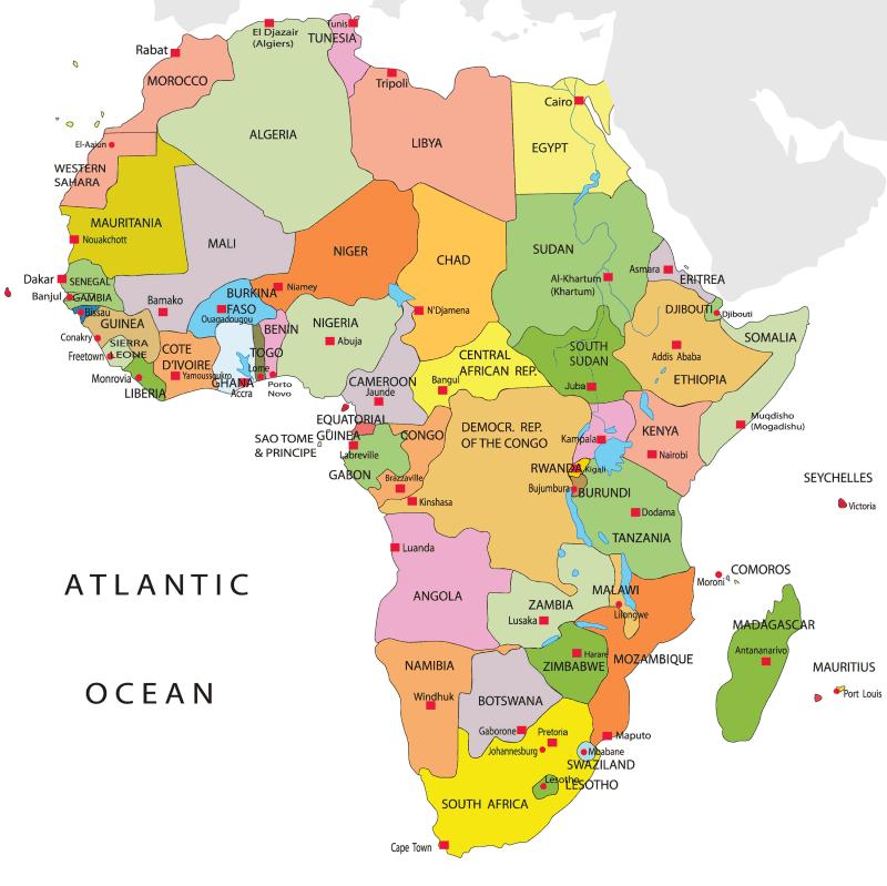Registro de marca en AFRICA