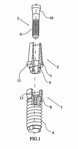 patente de una protesis