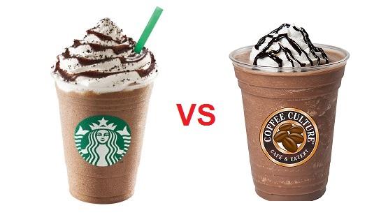 Hay Copia Frappucino vs Freddoccino