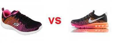 Nike VS Skechers