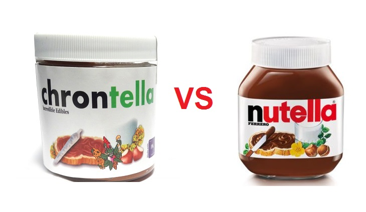 HAY COPIA CHRONTELLA VS NUTELLA