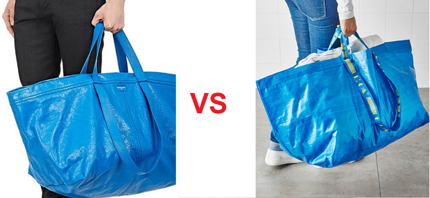 hay copia balenciaga vs ikea