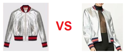 HAY COPIA GUCCI VS FOREVER 21