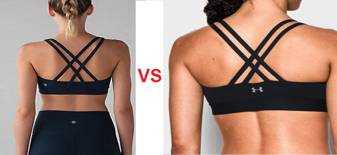 Hay copia LULULEMON VS UNDER ARMOUR