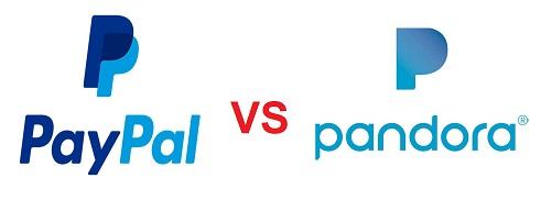 hay copia PayPal Vs Pandora