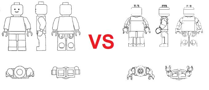 hay copia lego vs Shantou