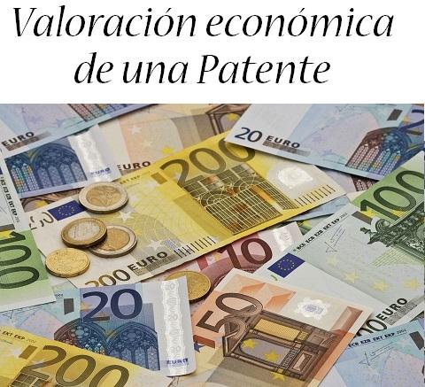 valoracion economica de una patente