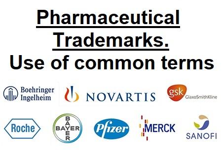 Pharmaceutical-trademarks
