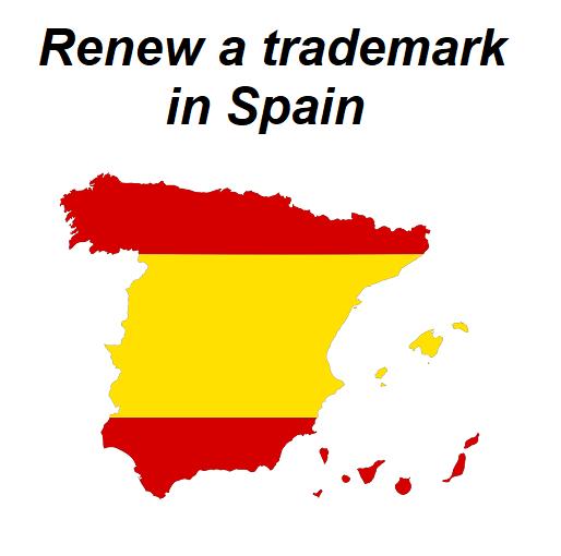 renew a trademark in Spain