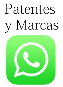 whatsapp patentes y marcas