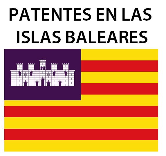 Patentes en las  Islas baleares