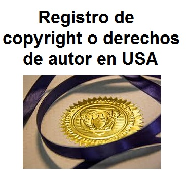 copyright o derechos de autor en usa