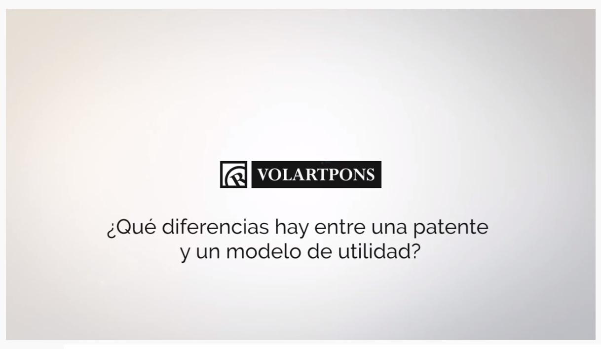 diferencias entre patente y modelo de utildiad